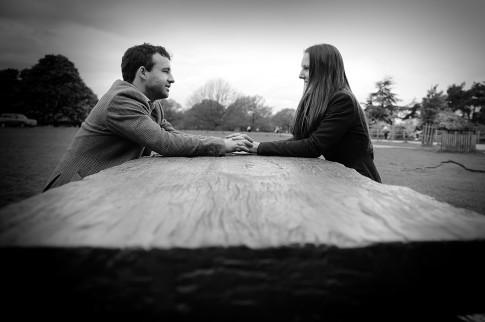 Richmond Park Engagement Photo Session