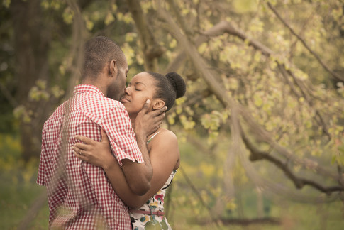 Sensual Engagement Photography Session
