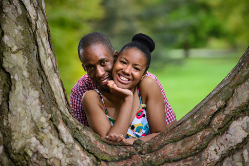 Finchley Barnet Engagement Photography Session