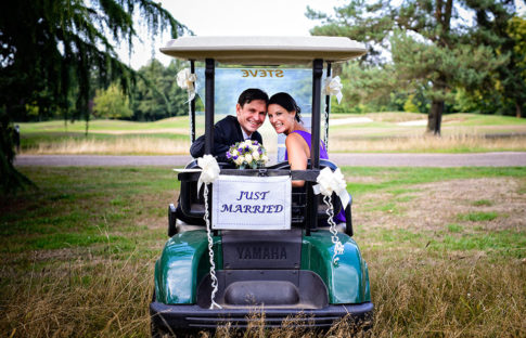 Bush Hill Golf Park Wedding Photographer