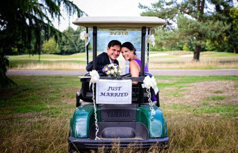 Bush Hill Golf Park Wedding Photographer
