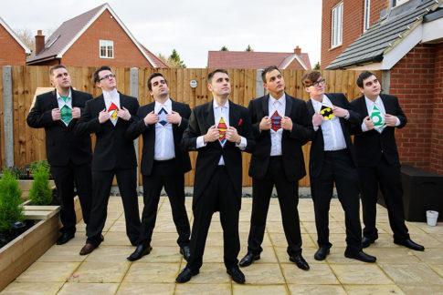 Milton Keynes Funny Wedding Poses