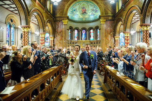 Kings College London Wedding Photography